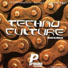 CDs de Música: DOBLE CD ALBUM / 2 CDS: TECHNO CULTURE - MIXED BY MELROB - 35 TRACKS - TEMPO MUSIC - AÑO 2001. Lote 85042720