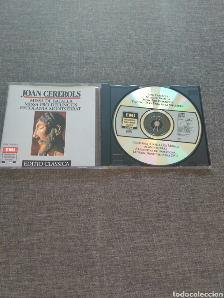 CD CEREROLS 2 MESSEN ESCOLANIA MONTSERRAT - 19 TRACKS - EMI RECORDS 1988 - RARE (Música - CD's Otros Estilos)