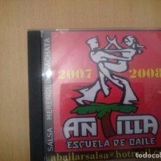 CDs de Música: ANTILLA 2007 2008 - RECOPILATORIO MUSICA SALSA MERENGUE BACHATA RUMBA -REFESCDLADEARES1. Lote 85327340