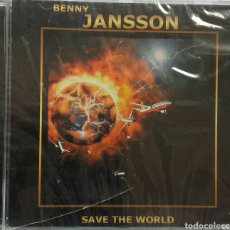 CDs de Música: BENNY JANSSON SAVE THE WORLD. Lote 85378498
