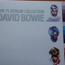 CDs de Música: DAVID BOWIE THE PLATINUM COLLECTION 3XCS CAJA LIBRETO ¡¡NUEVA¡¡. Lote 85381476