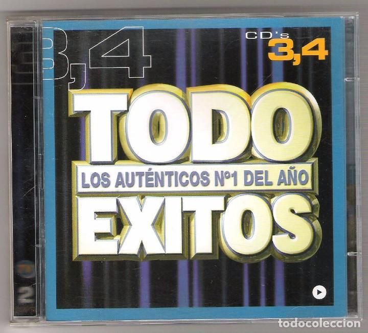 DOBLE CD TODO EXITOS (Música - CD's Disco y Dance)