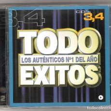 CDs de Música: DOBLE CD TODO EXITOS. Lote 85411300