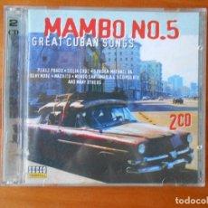 CDs de Música: CD MAMBO NO. 5 - GREAT CUBAN SONGS (2 CD) (1Ñ). Lote 85505060