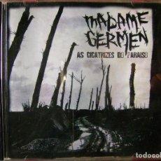 CDs de Música: MADAME GERMEN.AS CICATRIZES DO PARAISO...NEOCRUST CORUÑA...MAQUETA. Lote 85540016