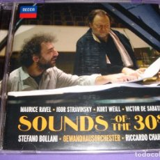 CDs de Música: SOUNDS OF THE 30´S / RAVEL / STRAVINSKY / WEILL / DE SABATA / STEFANO BOLLANI / RICCARDO CHAILLY CD. Lote 85551448