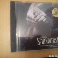 CDs de Música: B.S.O. PELICULA SCHINDLER´ LIST - LA LISTA DE SCHINDLER --REFESCDLADEARES2. Lote 85658088