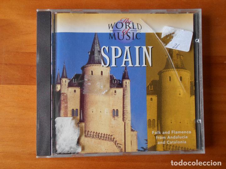 CD THE WORLD OF MUSIC - SPAIN (1O) (Música - CD's World Music)