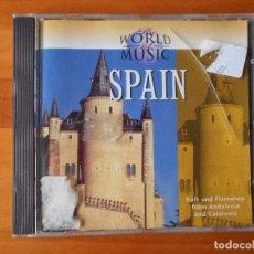 CDs de Música: CD THE WORLD OF MUSIC - SPAIN (1O). Lote 85662316
