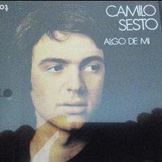 CDs de Música: CAMILO SESTO CD ALGO DE MI 1998 RAREZA. Lote 85681328