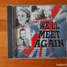 CDs de Música: CD WE'LL MEET AGAIN - 20 WAR TIME CLASSICS - NOEL COWARD, IRVING BERLIN, JOE LOSS... (1R). Lote 85730972
