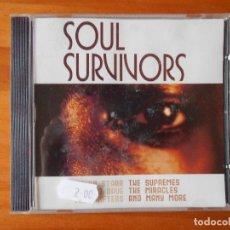 CDs de Música: CD SOUL SURVIVORS (1R). Lote 85731716