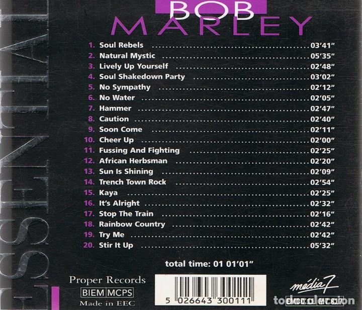 CDs de Música: CD BOB MARLEY ESSENTIAL MASTERS - Foto 2 - 85744580