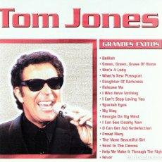 CDs de Música: CD TOM JONES GRANDES ÉXITOS. Lote 85745840