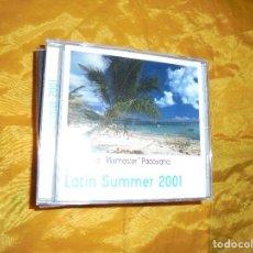 CDs de Música: COSTANTINO ¨MIXMASTER¨ PADOVANO. LATIN SUMMER 2001. CD. ITALY 2001. IMPECABLE(#). Lote 85772568