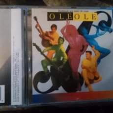 CDs de Música: RARO CD - DIFUSION - HISPAVOX JORGE ALVAREZ OLE OLE - BAILANDO SIN SALIR DE CASA - CD MARTA SANCHEZ . Lote 85773424