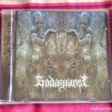 CDs de Música: GODAGAINST - SUPREME KHALKULUS OF TRIBULATION CD - DEATH METAL. Lote 85778896