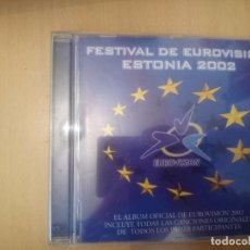 CDs de Música: FESTIVAL DE EUROVISION ESTONIA 2002 - ESTONIA EUROVISION SONG CONTEST 2002 --REFESCDLADEARES3. Lote 85783648