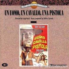 CDs de Música: UN UOMO, UN CAVALLO, UNA PISTOLA / STELVIO CIPRIANI CD BSO. Lote 85791056
