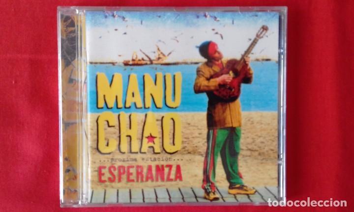 CD PROXIMA ESTACION... ESPERANZA, MANU CHAO, 2001 VIRGIN RECORDS (Música - CD's World Music)