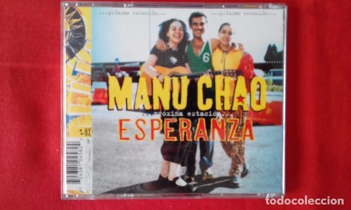 CDs de Música: CD PROXIMA ESTACION... ESPERANZA, MANU CHAO, 2001 VIRGIN RECORDS - Foto 2 - 85805456