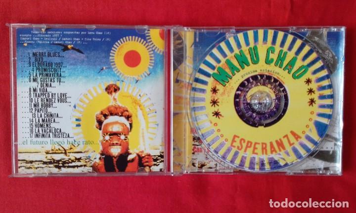CDs de Música: CD PROXIMA ESTACION... ESPERANZA, MANU CHAO, 2001 VIRGIN RECORDS - Foto 3 - 85805456