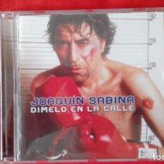 CDs de Música: CD DIMELO A LA CARA, JOAQUIN SABINA, BMG 2002. Lote 85806488