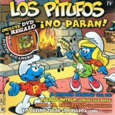 CDs de Música: CD LOS PITUFOS ¡NO PARAN! (DVD + CD). Lote 85817684