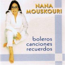 CDs de Música: CD NANA MOUSKOURI BOLEROS CANCIONES RECUERDOS ( 2 CD). Lote 85819124