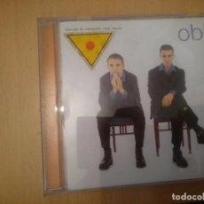 CDs de Música: OBK -- DONDE EL CORAZON NOS LLEVE. Lote 85826576