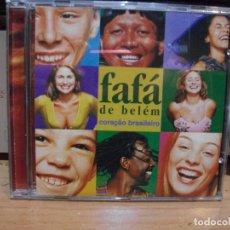 CDs de Música: FAFA DE BELEM CORACAO BRASILEIRO CD ALBUM COMO NUEVO¡¡. Lote 85935476