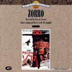 CDs de Música: ZORRO / GUIDO & MAURIZIO DE ANGELIS CD BSO. Lote 168518820
