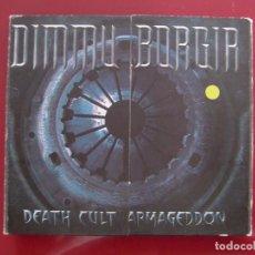 CDs de Música: DIMMU BORGIR - DEATH CULT ARMAGEDDON (CD, ALBUM, LTD, DIG) . Lote 86119836