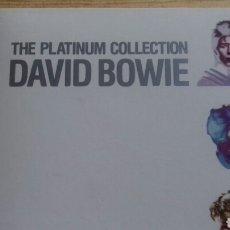 CDs de Música: DAVID BOWIE THE PLATINIUM COLLECTION. Lote 86135663
