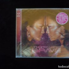 CDs de Música: JENNIFER LOPEZ BRAVE, CD + DVD - NUEVO PRECINTADO. Lote 187200602