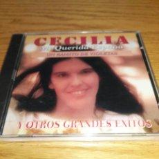 CDs de Música: CD CECILIA MI QUERIDA ESPAÑA , UN RAMITO DE VIOLETAS - NUEVO Y PRECINTADO. Lote 86114204
