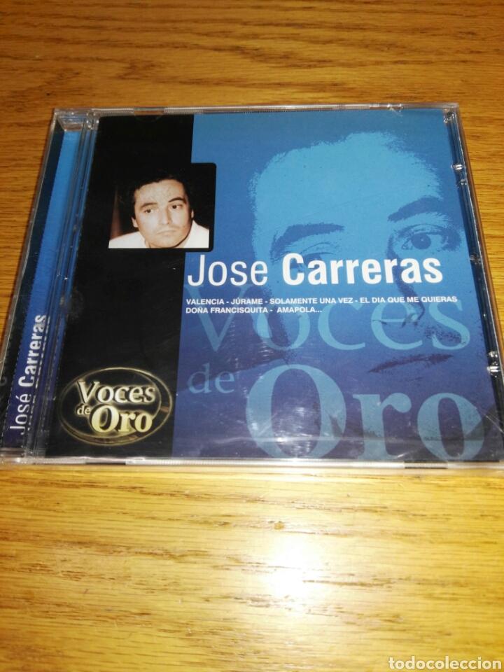 CD JOSE CARRERAS, VALENCIA, JURAME ETC, 20 ÉXITOS DE ORO- NUEVO Y PRECINTADO (Música - CD's Latina)