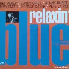 CDs de Música: RELAXIN' BLUE/VVAA, BLUE NOTE, 2 CD. Lote 86216012