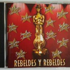 CDs de Música: CD REBELDES Y REBELDES. Lote 86216130