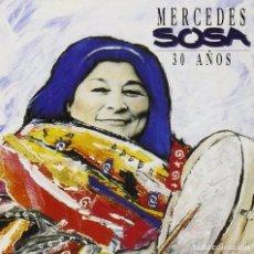 CDs de Música: MERCEDES SOSA - 30 AÑOS - CD RECOPILATORIO. PRECINTADO. Lote 86267632