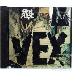 CDs de Música: STEEL PULSE – VEX. Lote 116107707