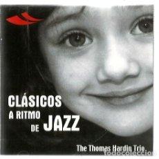 CDs de Música: CD THE THOMAS HARDIN TRIO : CLASICOS A RITMO DE JAZZ ( MOZART, CHOPIN, GRIEG, BIZET, BACH, SATIE,. Lote 133762566