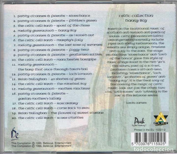 CDs de Música: Danny Boy - The Celtic Collection - Foto 2 - 86302028
