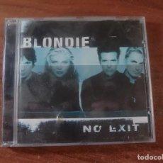 CDs de Música: BLONDIE NO EXIT. Lote 86316212