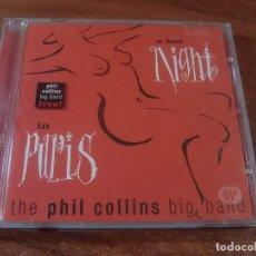 CDs de Música: PHIL COLLINS BIG BAND IN PARIS. Lote 86316744