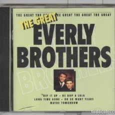 CDs de Música: THE GREAT EVERLY BROTHERS. CD . Lote 86330592
