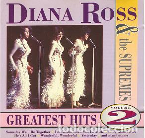 DIANA ROSS & THE SUPREMES-GREATEST HITS VOLUME 2 -SOUL FUNK (Música - CD's Jazz, Blues, Soul y Gospel)