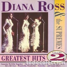 CDs de Música: DIANA ROSS & THE SUPREMES-GREATEST HITS VOLUME 2 -SOUL FUNK. Lote 86374052