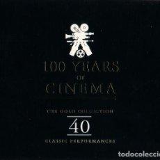 CDs de Música: 100 YEARS OF CINEMA -VARIOS DOBLE CD. Lote 86374256