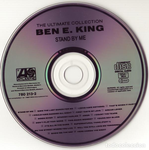 CDs de Música: Ben E. King ‎- The Ultimate Collection: Stand By Me-soul funk - Foto 3 - 86375392